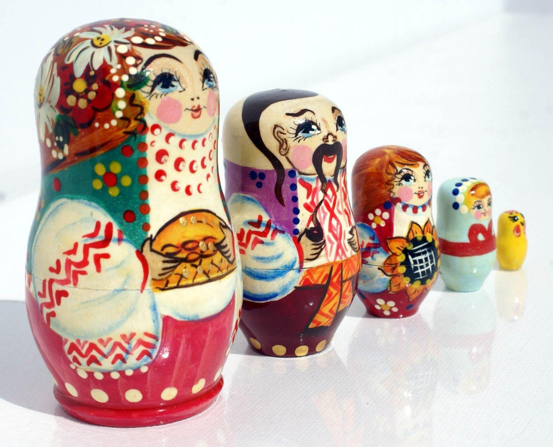 Russische Puppen Matroschka Babuschka Kaufen Matreschka
