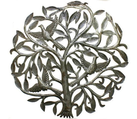 Baum Des Lebens Mit Vogeln Die Zu Hause Deko Store Home Dekor Und Akzente Grosse 60cm 45 20 Eur Deutsch Markt